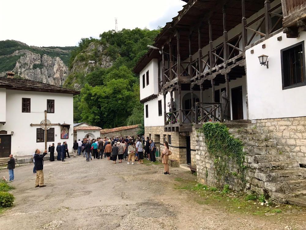 Principesa Mostenitoare si Principele Radu la manastirea Cherepish, Vratsa, 17 iunie 2017