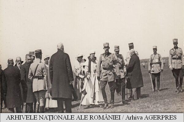 Regele Ferdinand pe front 10 mai 1917