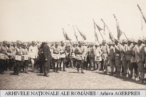 Regele Ferdinand în inspectii pe front, 1916-1917